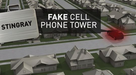 a fake cell phone tower